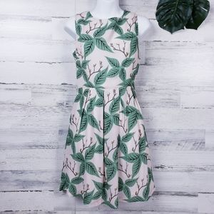 Pink Martini NWT Leafy Spring Cocktail Dress